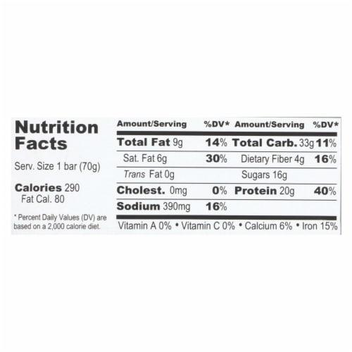 Probar Cookie Dough Core Bar - Case of 12 - 2.46 oz Perspective: back
