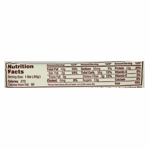Gomacro Bar - Organic - Mocha - Chocolate Chip - Case of 12 - 2.3 oz Perspective: back