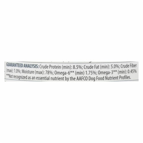Tender & True Dog Food Chicken And Brown Rice - Case of 12 - 13.2 OZ Perspective: back