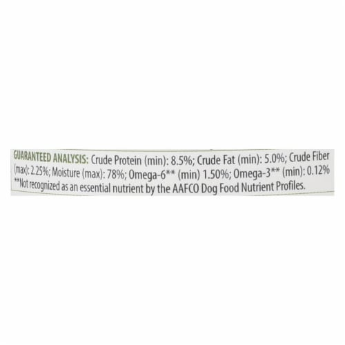 Tender & True Cat Food, Turkey And Liver - Case of 12 - 12.5 OZ Perspective: back