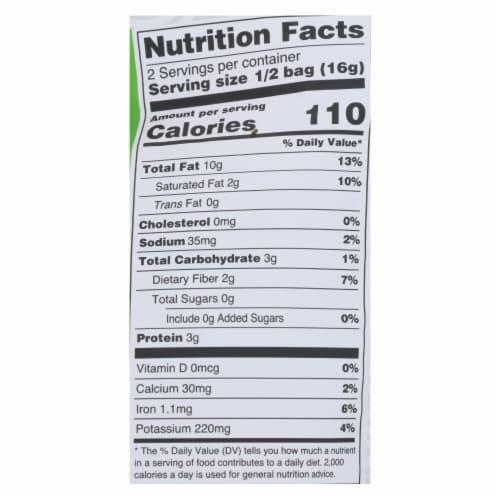 Nora Snacks Seaweed Snacks Crispy Original - Case of 12 - 1.13 OZ Perspective: back