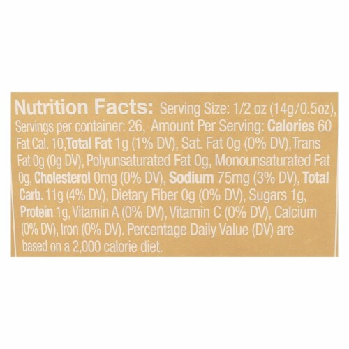 Aleia's - Gluten Free Bread Crumbs - Case of 12 - 13 oz. Perspective: back