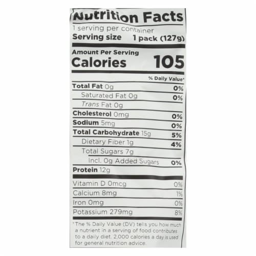 Fuel For Fire Strawberry Banana Smoothie, Strawberry Banana - Case of 12 - 4.5 OZ Perspective: back