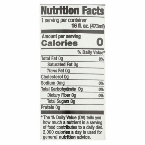 Steaz Zero Calorie Green Tea - Peach Mango - Case of 12 - 16 Fl oz. Perspective: back
