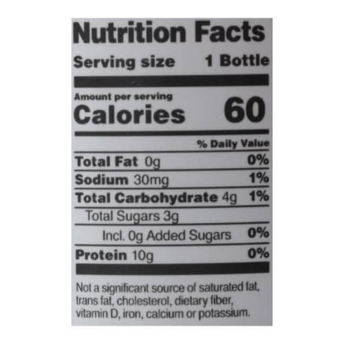 Vital Proteins - Water Collagen Blueberry Mint - Case of 12-12 FZ Perspective: back