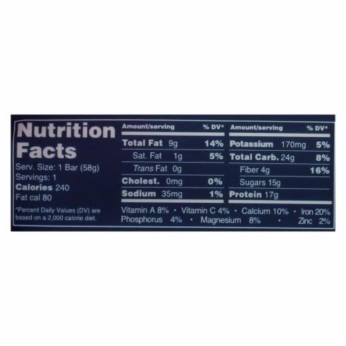 Shanti Bar - Superfood Protein Bar - Mango Cashew - Case of 12 - 2 oz. Perspective: back