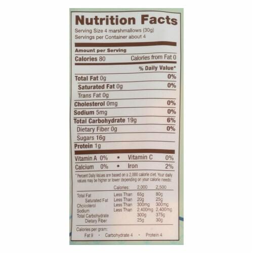 Smashmallow Snackable Marshmallows - Cinnamon Churro - Case of 12 - 4.5 oz Perspective: back