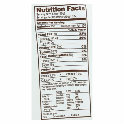 Bark Thins Snacking Dark Chocolate - Pumpkin Seed with Sea Salt - Case of 12 - 4.7 oz. Perspective: back