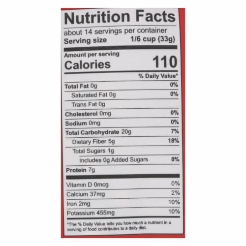 Farmer Direct Co-Op, Organic Pinto Beans - Case of 12 - 1 LB Perspective: back