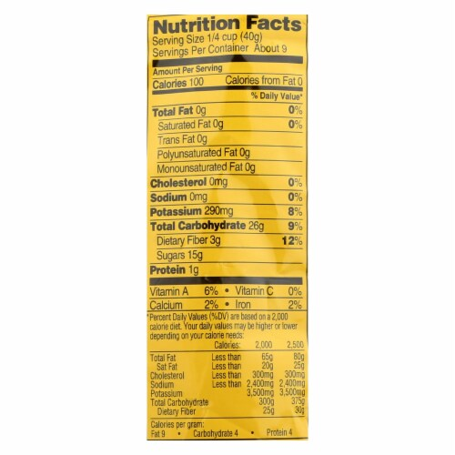 Newman's Own Organics Organic Pitted - Prunes - Case of 12 - 12 oz. Perspective: back