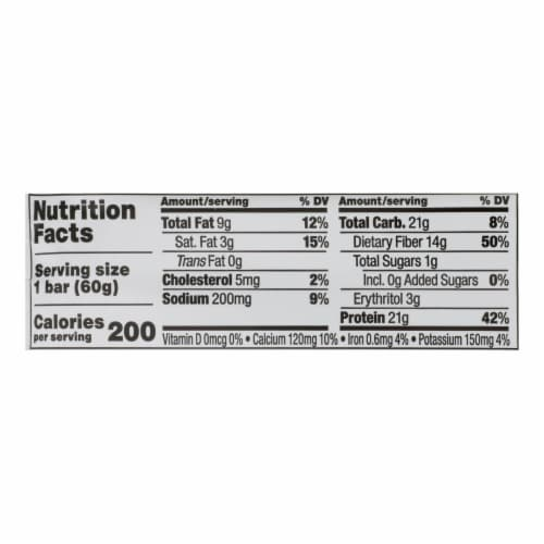 Quest Bar - Chocolate Chip Cookie Dough - 2.12 oz - case of 12 Perspective: back