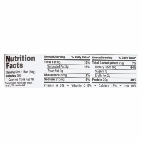 Quest Bar - Mint Chocolate Chunk - 2.12 oz - case of 12 Perspective: back