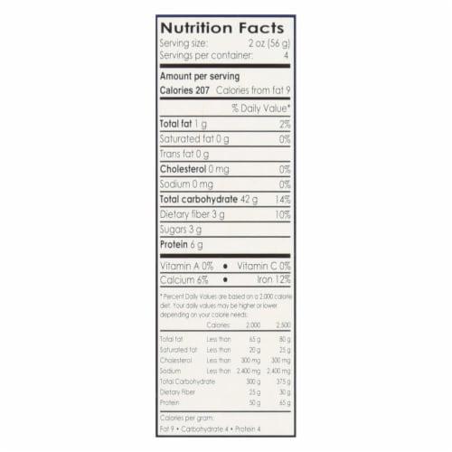 Andean Dream Gluten Free Organic Macaroni Quinoa Pasta - Case of 12 - 8 oz. Perspective: back