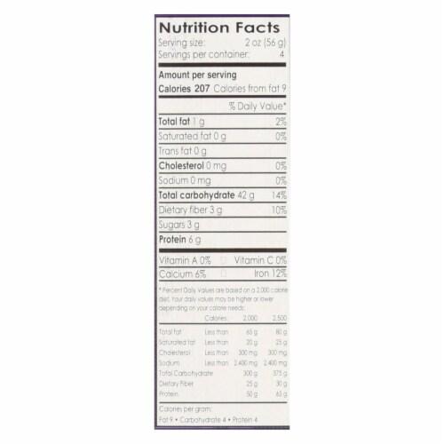 Andean Dream Gluten Free Organic Orzo Quinoa Pasta - Case of 12 - 8 oz. Perspective: back