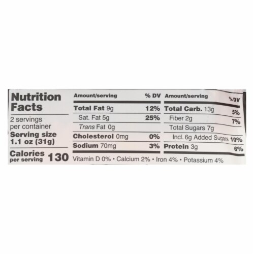 Kate's Real Food - Bar Organic Tiki Mango - Case of 12 - 2.2 OZ Perspective: back