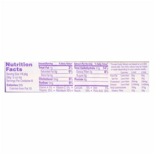 DaVinci - Fettuccine Pasta - Case of 20 - 16 oz. Perspective: back
