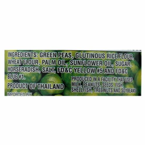 Hapi Green Peas - Hot Wasabi - Case of 24 - 4.9 oz. Perspective: back