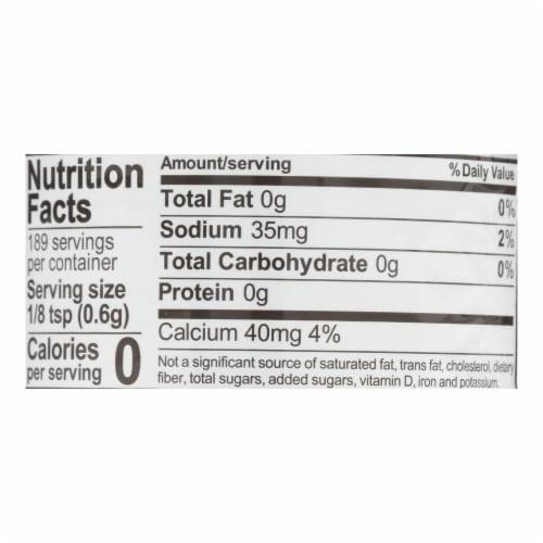 Rumford Baking Powder - Reduced Sodium - Case of 24 - 4 oz. Perspective: back