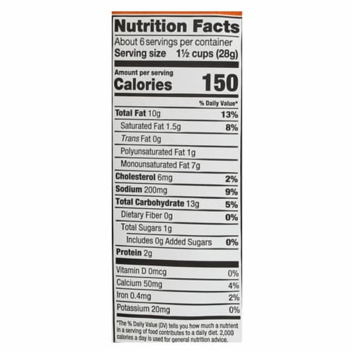 Barbara's Bakery - Baked Original Cheese Puffs - Case of 12 - 5.5 oz. Perspective: back