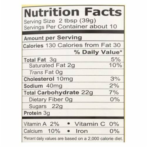 California Farms Sweetened Condensed Milk - Case of 24 - 14 Fl oz. Perspective: back