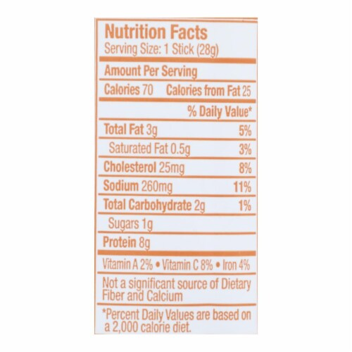 Vermont Smoke And Cure RealSticks - Turkey Honey Mustard - 1 oz - Case of 24 Perspective: back