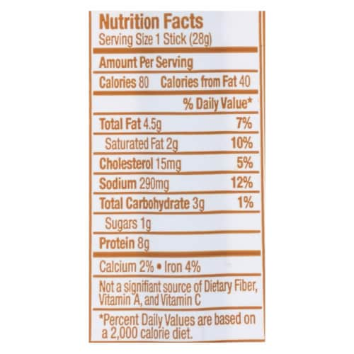 Vermont Smoke And Cure Maple Teriyaki Style Beef Sticks - Case of 24 - 1 OZ Perspective: back