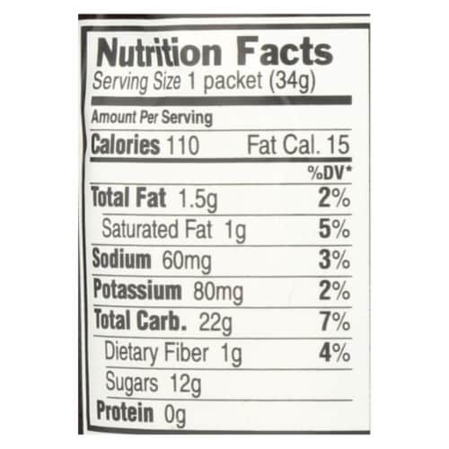 Clif Bar Clif Shot - Chocolate - Case of 24 - 1.2 oz Perspective: back