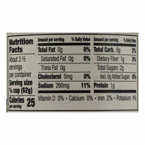 Muir Glen Organic Regualr Tomato Sauce - Case of 24 - 8 fl oz Perspective: back
