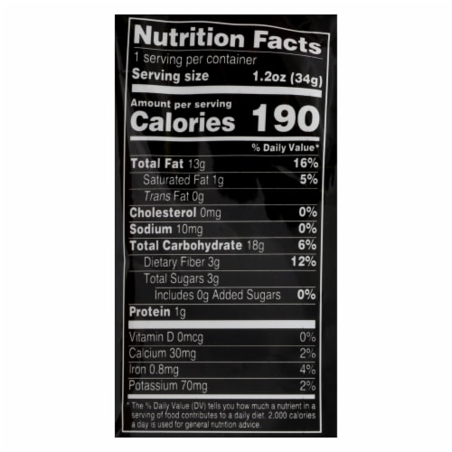 Terra Chips Sweet Potato Chips - Case of 24 - 1.2 OZ Perspective: back