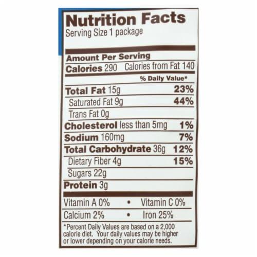 Bark Thins Snacking Chocolate - Dark Chocolate Pretzel - Case of 24 - 2 oz. Perspective: back