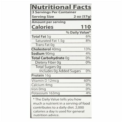 American Tuna - Canned Tuna - Salt - Case Of 24 - 6 Oz Perspective: back