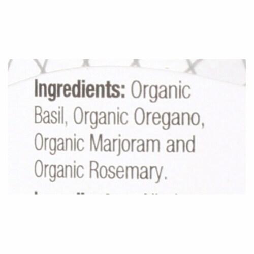 Badia Organic Italian Seasoning  - Case of 8 - .75 OZ Perspective: back