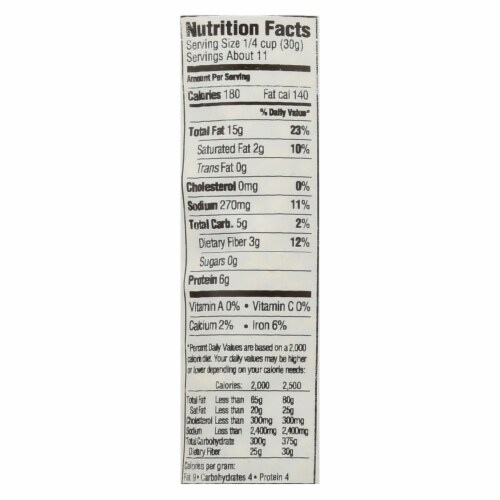 Woodstock Non-GMO Roasted and Salted Sunflower Seeds - Case of 8 - 12 OZ Perspective: back