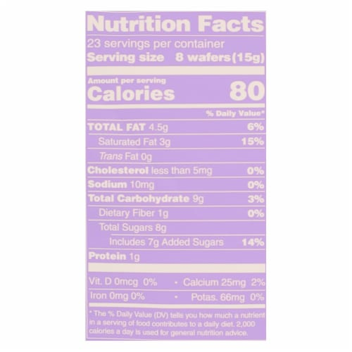 Guittard Chocolate Baking Wafers - Organic - 38% Milk - Case of 8 - 12 oz Perspective: back