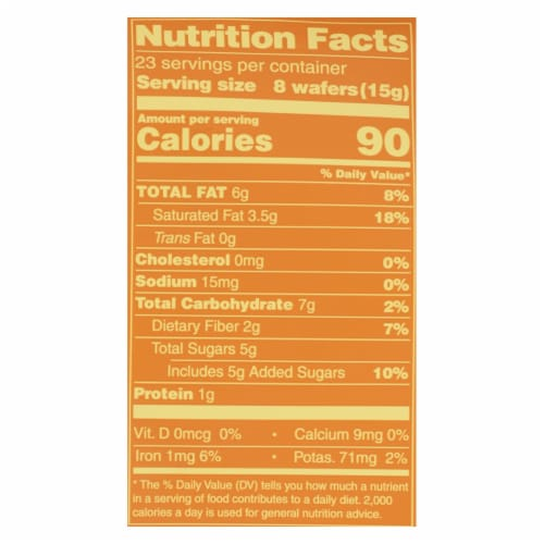 Guittard Chocolate Baking Wafers - Organic - 66% Semisweet - Case of 8 - 12 oz Perspective: back
