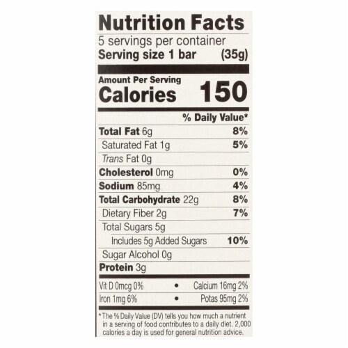 Kind Bar - Granola - Healthy Grains - Maple Pumpkin Seeds Sea Salt - 5/1.2 oz - case of 8 Perspective: back