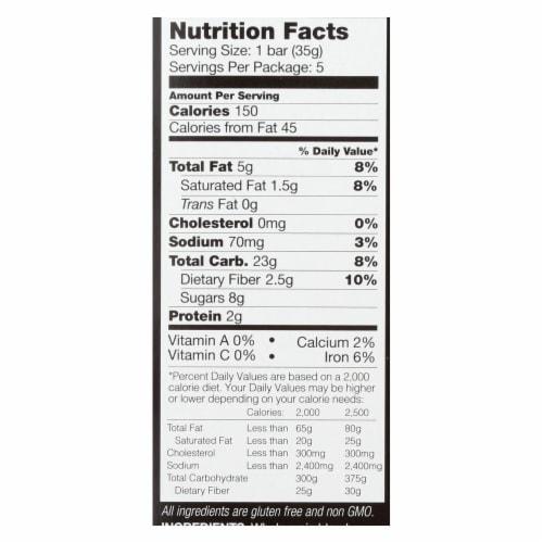 Kind Bar - Granola - Healthy Grains - Dark Chocolate Chunk - 5/1.2 oz - case of 8 Perspective: back