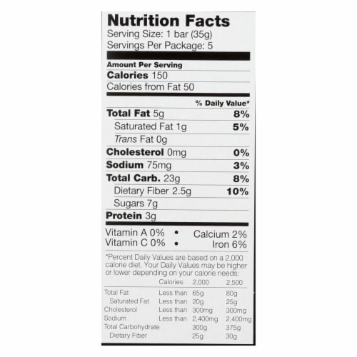 Kind Bar - Granola - Healthy Grains - Peanut Butter and Chocolate - 5/1.2 oz - case of 8 Perspective: back