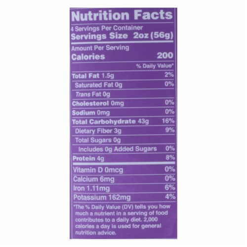 Lotus Foods Noodles - Organic - Forbidden Pad Thai - Case of 8 - 8 oz Perspective: back