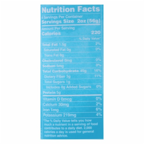 Lotus Foods Moringa Pad Thai Rice Noodles - Case of 8 - 8 OZ Perspective: back