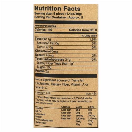 Rj's Licorice Soft Eating Licorice - Original - Case of 8 - 7.05 oz Perspective: back