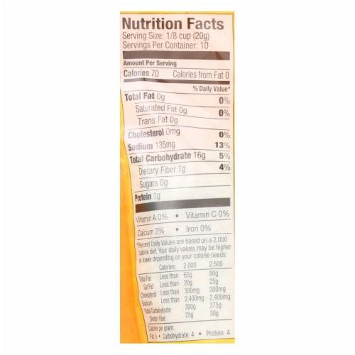 Ian's Panko Breadcrumbs - Gluten Free - Case of 8 - 7 oz. Perspective: back