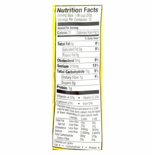 Ians Natural Foods Bread Crumbs - Panko - Italian Style - Gluten Free - 7 oz - case of 8 Perspective: back