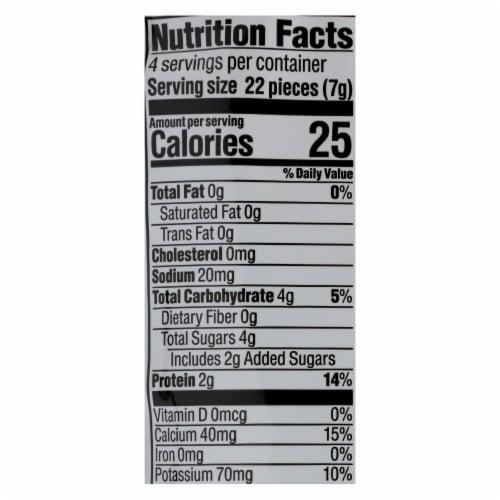 HappyYogis Yogurt Snacks-Org-Freeze-Dried-Greek-Babies,Toddlers-Strawberry Banana-1oz-8Case Perspective: back