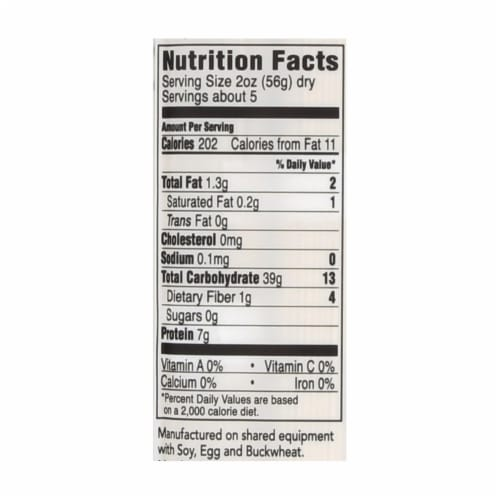 Hakubaku 100% Organic Noodles - Somen - Case of 8 - 9.52 oz Perspective: back