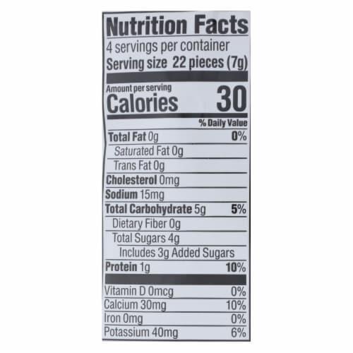Happy Baby Happy Yogis Organic Superfoods Yogurt and Fruit Snacks Strawberry - 1 oz - 8Case Perspective: back