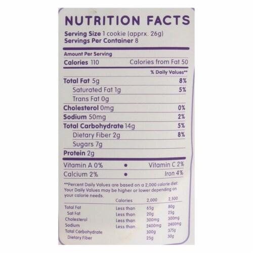 Maxine's Heavenly - Cookies Cinnamon Oatmeal Raisin - Case of 8-7.2 OZ Perspective: back