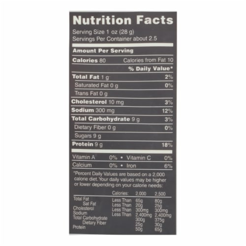 Krave Beef Jerky - Sweet Chipotle - Case of 8 - 2.7 oz. Perspective: back