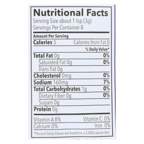 Riega Foods Organic Chili Seasoning  - Case of 8 - 0.9 oz. Perspective: back