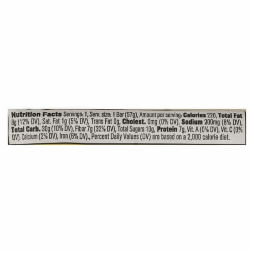 Core Foods - Bar Probiotic Peanut Butter - Case of 8 - 2 OZ Perspective: back